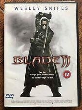 Wesley Snipes BLADE II ~ 2 Marvel Universe Vampire Slayer Horror 2-Disc UK DVD