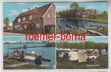 09485 Mehrbild Ak Elbstorf Edeka Detloff, Hafen, Elbpartie, Campingplatz 1972