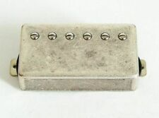 Artec Alnico 5 Les Paul Humbucker Bridge Pickup Relic Nickel Cover