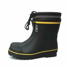 Mens Steel Toe Safety Rain Boots Anti-puncture Waterproof Rubber Work Shoes New
