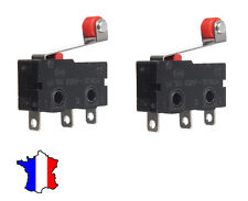 2 x Limit Switch KW12-3 gt 5A 125V-250V Micro Roll Lever Arm For 3D Printer  etc