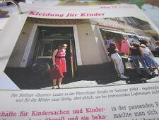 Das war die DDR Alltag Einkaufen Kleidung für Kinder