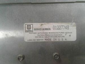 Engine ECM Electronic Control Module 4-151 2.5L Fits 87-92 CENTURY 651081