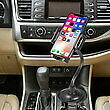 Heavy Duty Cup Holder Phone Mount for ZTE ZMAX Grand, ZTE Champ, ZTE Avid 916