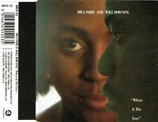 MICA PARIS & WILL DOWNING - Where is the love 4TR CDM 1989 DOWNTEMPO / SOUL