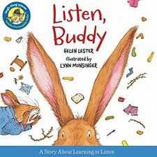 Laugh-Along Lessons: Listen, Buddy by Helen Lester (2013, Hardcover)