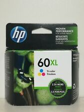 HP 60XL Tri-color High Yield Original Ink Cartridge (CC644WN) Exp 10/2019-2021