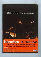 BENABAR DVD (NEUF) LIVE AU GRAND REX