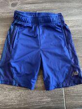 New Balance Size 4 Kids Blue Basketball Shorts