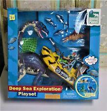 Chap Mei Deep Sea Exploration Playset W/ Elasmosaurus NIB