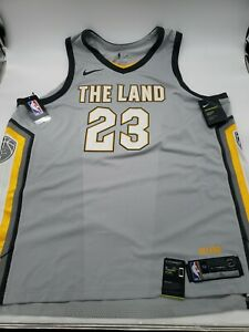 "Nike Lebron James Cleveland ""The Land"" Jersey AUTHENTIC - AH6048-007 Size 56 XXL"