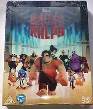 Wreck-It Ralph / Ralph reichts | Lenticular 2D + 3D Blu-Ray Steelbook NEU NEW