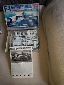 Academy F1 Benetton B195 Renault 1/20 Scale Kit. Super Rare Discontinued  Kit