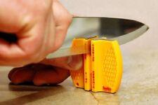 Smiths 2 Step Pocket Knife Sharpener, Course/Fine, For Straight Edge Knives