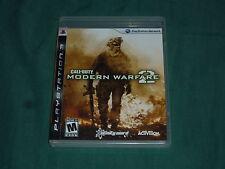 Call of Duty: Modern Warfare 2  (Sony Playstation 3, 2011) Complete!