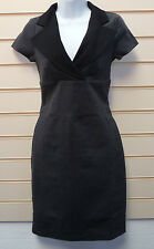 DRESS GREY SIZE 8 BLACK CLASS INTERNATIONAL COLLARED JERSEY BNWOT