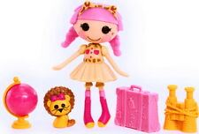 NEW! Mini Lalaloopsy Kat Jungle Roar! Safari Outfit! Pet Lion! Cheetah Headband!