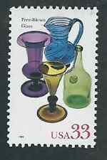 Scott #3325...33 Cent.. .American Glass... Free-Blown...10 Stamps