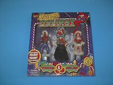 MARVEL HOLIDAY SPECIAL SPIDERMAN AND MARY JANE 1997 NEW TOYBIZ LIMITED EDITION