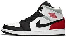Air Jordan 1 Union Black Toe Mid SE Track Red Retro Bred 852542-100