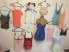 Mix Lot 13 Clothes Victoria Secret differ brands,Bras,Lingerie,Tops Siz M/S NWT