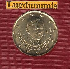 Vatican 2008 - 20 Centimes D'Euro - 91 400 exemplaires Provenant du BU RARE
