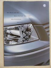 VW Bora Variant v6-Listino prezzi MJ 2003-prospetto brochure 04.2002