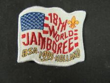 1995 World Jamboree US Contingent Felt Pocket Patch   c37