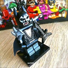 71017 THE LEGO BATMAN MOVIE Glam Metal Batman #2 Minifigures SEALED guitar KISS