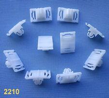 (2210) 10x Zierleistenklammern Klammer leiste Clipse für C4 '90-94', A3, A4, A6,