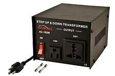 Simran AC-100 Step Up/Down Voltage Converter Transformer 110V/220V - 100 Watts