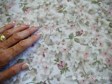 Floral Pink Green Twin Size Bed Sheets by Spring