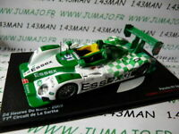 24H58M 1/43 IXO Altaya Passion vitesse GT PORSCHE RS SPYDER 24 Heures Mans 2009