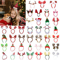 Christmas Antlers Head Hook Cute Headband for Adult Kid Toy Gift Party Decor