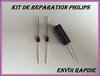 KIT REPARATION PHILIPS 47PFL5604H/12 2 DIODES SB260(SR260)+CONDENSATEUR 3300UF