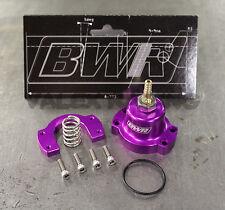 Blackworks Racing Adjustable Fuel Pressure Regulator Honda Acura Purple
