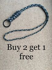 With Safety Pop Paracord /'Cobra Knot/' Neck Lanyard for ID Card,Tools etc Keys