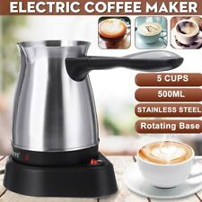Electric Coffee Machine Home Office Electric Stainless Steel Coffee Maker Kettle