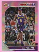 2019-20 NBA Hoops Premium Stock Rajon Rondo Prizm #273 LA Lakers