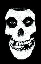 MISFITS - Patch Aufnäher - skull Cliff Burton neu