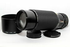 CANON FD 100-300mm f:5.6 Obiettivo ZOOM Reflex A-1 AE-1 AT-1 FT FTb T50 T70 T90