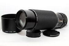 CANON FD 100-300mm f:5.6 Obiettivo ZOOM Reflex A-1 AE-1 AT-1 FT FTb T50 T70 T90|