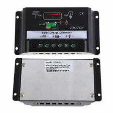 30A PWM Solar Panel Battery Regulator Charge Controller 12V 24V Auto Switch VP