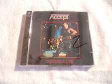 "Accept ""Staying a life"" 2cd Live in Japan 1985 BMG Records Sealed"