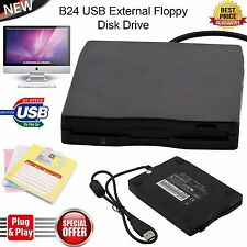3.5 Inch External Floppy Disk Drive 1.44MB Reader Writer For Win 10 Laptop PC