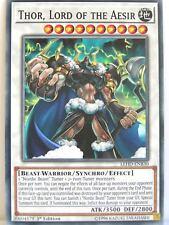 Yugioh - 1x #030 Thor, Lord of the Aesir - LEHD-B - Legendary Hero Decks