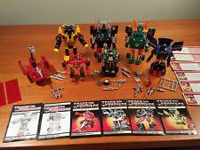 Transformers G1 Lot Sunstreaker, Ironhide, Trailbreaker, Hoist, Skids, & Hound