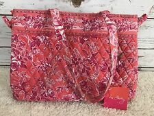 Vera Bradley NWT Retired Breast Cancer HOPE TOILE Tie Tote Bag Purse