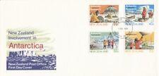 1984 New Zealand Antarctic Research FDC with Bureau FDI.