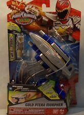 Power Rangers Dino SuperCharge Gold Ranger Ptera Morpher Battle Sounds Charge